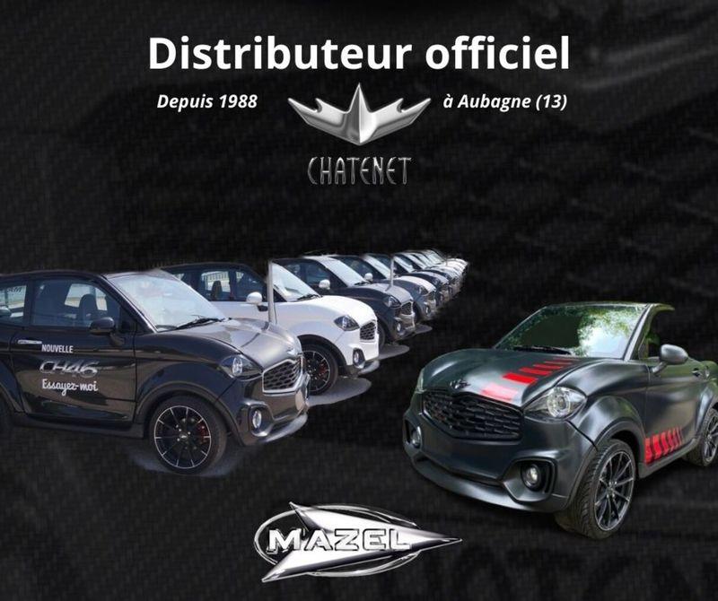 Distributeur Chatenet Mazel Auto Aubagne Voiture sans permis specialiste